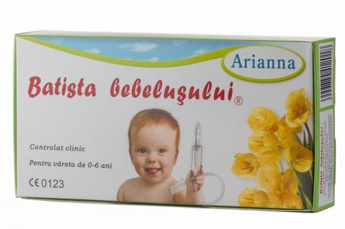 Aspirator nazal Arianna Batista bebelusului - Aspiratoare nazale -