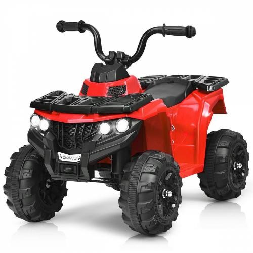 Atv electric 6V Nichiduta Racer 1 Red - Masinute electrice -