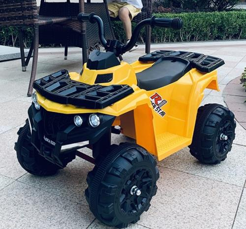 Atv electric 6V Nichiduta Racer 1 Yellow - Masinute electrice -