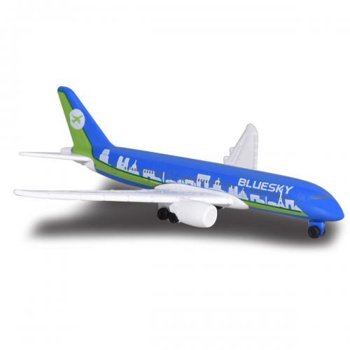 Avion Fantasy Airplane Majorette - Boeing - 13 cm - Masinute copii -