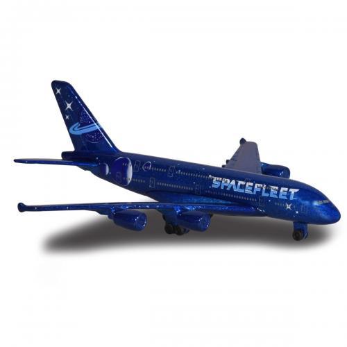 Avion Fantasy Airplane Majorette - Spacefleet - 13 cm - Masinute copii -