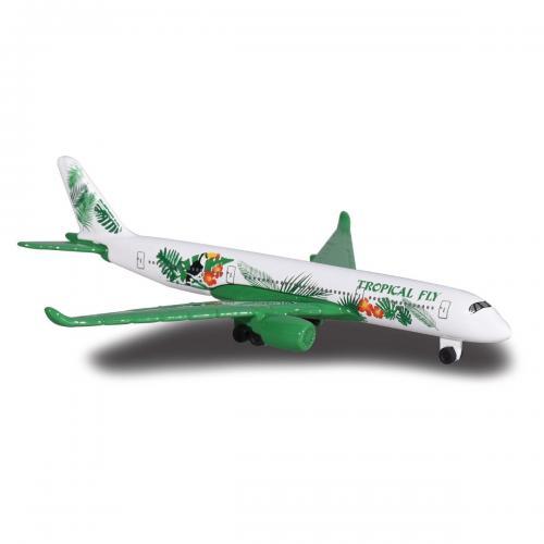 Avion Fantasy Airplane Majorette - Tropical Fly - 13 cm - Masinute copii -