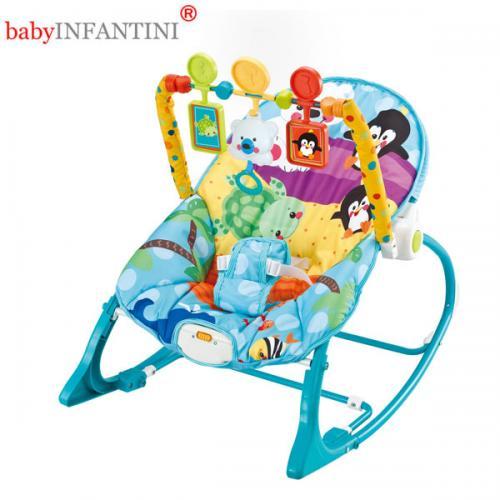 Balansoar 2 in 1 Bear - Camera copilului - Balansoare bebelusi