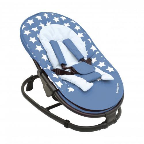 Balansoar copii Baby Star Albastru - Camera copilului - Balansoare bebelusi