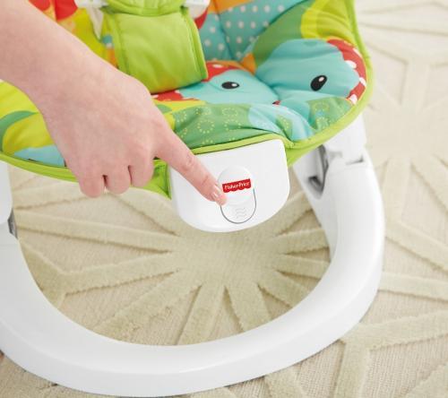 Balansoar portabil si distractiv Rainforest Friends Fisher-Price - Camera copilului - Balansoare bebelusi