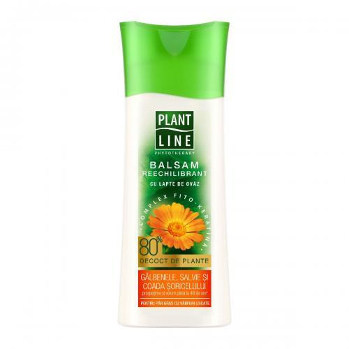 Balsam cu extract de galbenele Plant Line - 230 ml - Ingrijire corporala - Produse pentru par