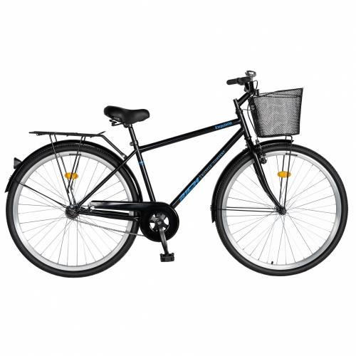 Bicicleta City 28 Rich Exquisite R2891A negrualbastru - Biciclete copii  -