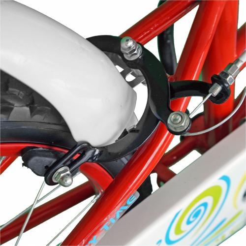 Bicicleta copii 20 Junior J2002B rosualb 7-10 ani - Biciclete copii  -