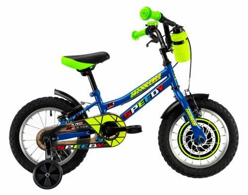Bicicleta copii Dhs 1403 albastru 14 inch - Biciclete copii  -