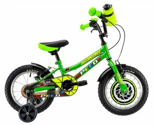 Bicicleta copii Dhs 1403 verde 14 inch - Biciclete copii  -