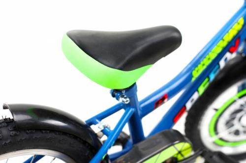 Bicicleta copii Dhs 1601 albastru 16 inch - Biciclete copii  -