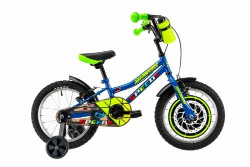 Bicicleta copii Dhs 1603 albastru 16 inch - Biciclete copii  -