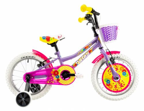 Bicicleta copii Dhs 1604 violet 16 inch - Biciclete copii  -