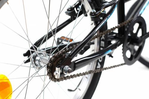 Bicicleta copii Dhs 2003 negru 20 inch - Biciclete copii  -