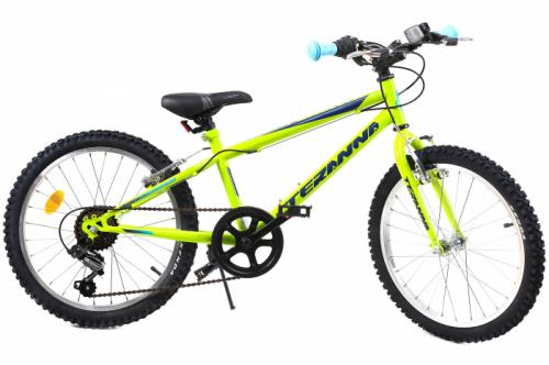 Bicicleta copii Dhs 2021 verde deschis 20 inch - Biciclete copii  -