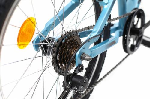 Bicicleta copii Dhs 2023 albastru deschis 20 inch - Biciclete copii  -