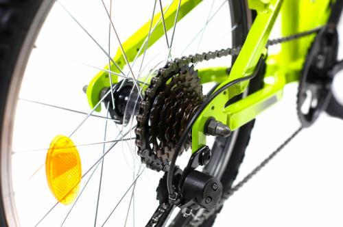 Bicicleta copii Dhs 2023 verde aprins 20 inch - Biciclete copii  -