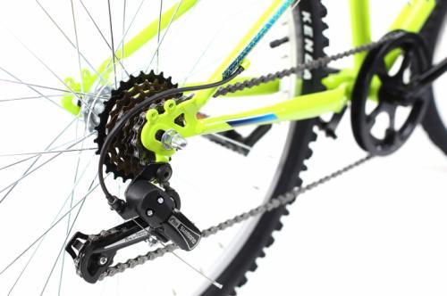 Bicicleta copii Dhs 2421 verde light 24 inch - Biciclete copii  -