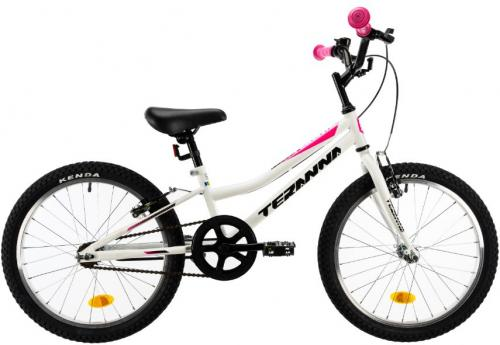 Bicicleta copii Dhs Terrana 2004 alb 20 inch - Biciclete copii  -