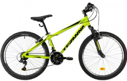 Bicicleta copii Dhs Terrana 2423 verde 20 inch - Biciclete copii  -