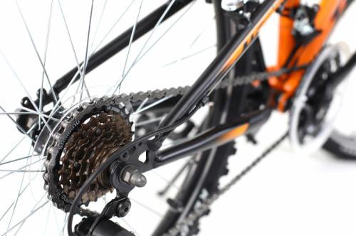 Bicicleta copii Dhs Terrana 2445 portocaliu deschis 24 inch - Biciclete copii  -