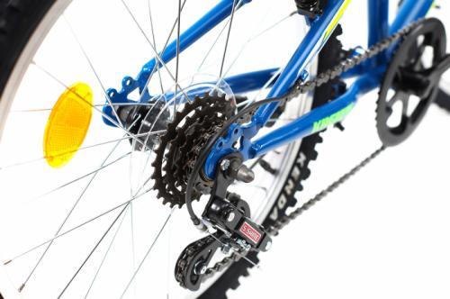 Bicicleta copii Kreativ 2013 albastru 20 inch - Biciclete copii  -