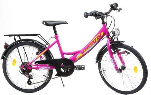 Bicicleta copii Kreativ 2014 violet 20 inch - Biciclete copii  -