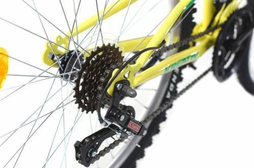 Bicicleta copii Kreativ 2441 galben deschis 24 inch - Biciclete copii  -