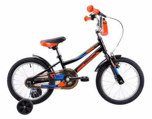Bicicleta copii Venture 1617 negru 16 inch - Biciclete copii  -