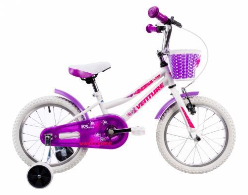 Bicicleta copii Venture 1618 alb 16 inch - Biciclete copii  -
