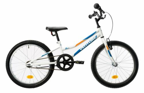 Bicicleta copii Venture 2011 alb albastru 20 inch - Biciclete copii  -