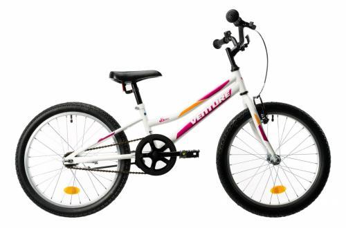 Bicicleta copii Venture 2011 alb roz 20 inch - Biciclete copii  -