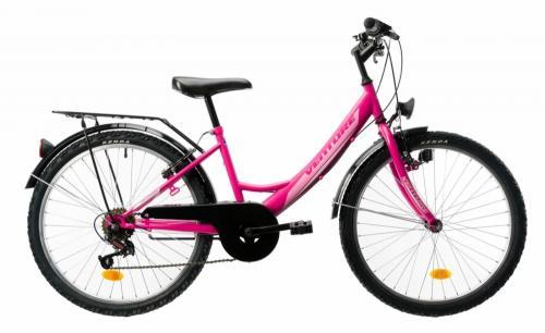 Bicicleta copii Venture 2418 roz 24 inch - Biciclete copii  -