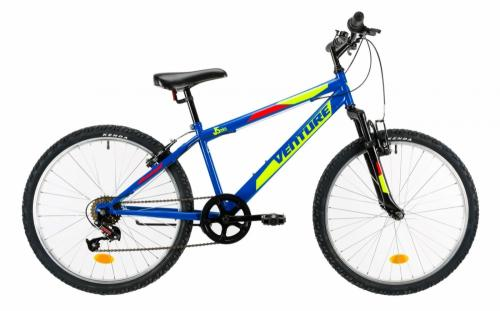 Bicicleta copii Venture 2419 albastru 24 inch - Biciclete copii  -