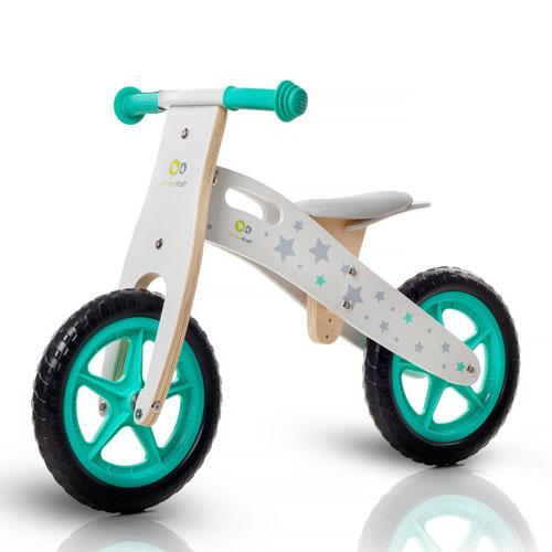 Bicicleta din lemn fara pedale Runner Stars Deluxe - Biciclete copii  -
