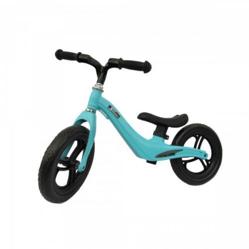 Bicicleta fara pedale 12 inch Albastra - Biciclete copii  -