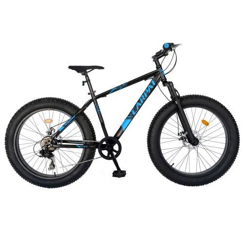 Bicicleta Fat Bike Carpat Hercules 20 inch C2019B 6 viteze culoare negrualbastru - Biciclete copii  -