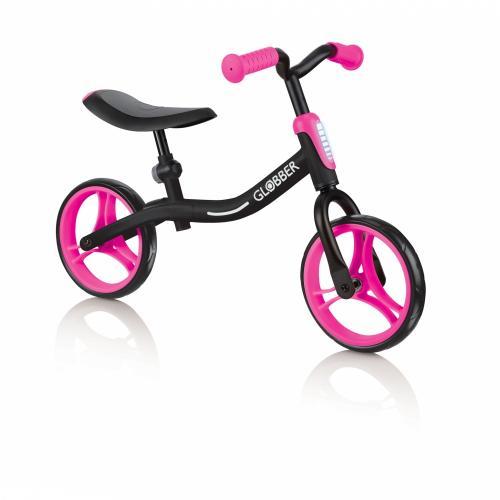Bicicleta Globber Go Bike fara pedale 85 inch roz - Biciclete copii  -