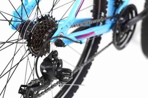 Bicicleta Mtb Dhs Terrana 2622 S albastru 26 inch - Biciclete copii  -