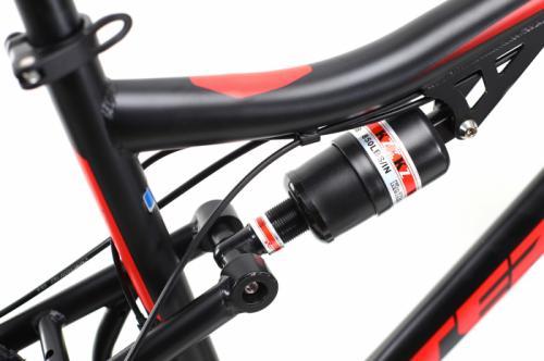 Bicicleta Mtb Dhs Terrana 2645 M negru rosu 26 inch - Biciclete copii  -