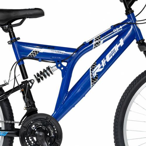 Bicicleta MTB-FS 24 Rich Alpin R2449A cadru otel albastru negru - Biciclete copii  -