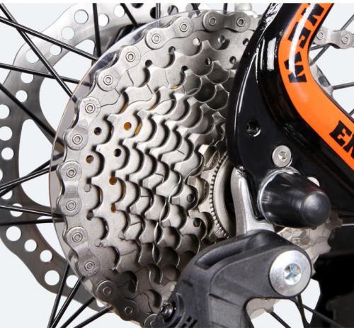 Bicicleta MTB-HT Forever F27A9B roata 275 cadru aluminiu 27 viteze culoare negrurosu - Biciclete copii  -