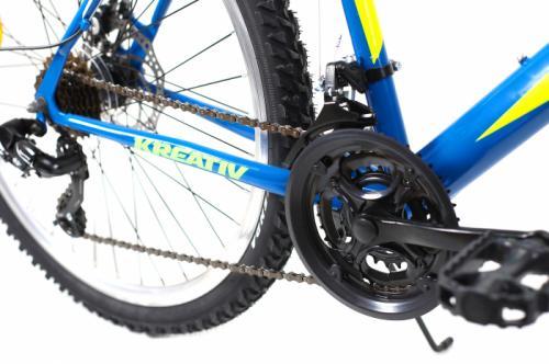 Bicicleta Mtb Kreativ 2605 M albastru galben 26 inch - Biciclete copii  -