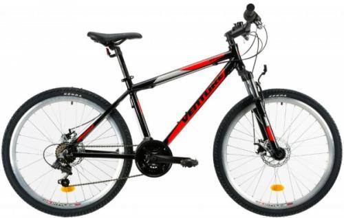 Bicicleta Mtb Venture 2621 S negru rosu 26 inch - Biciclete copii  -