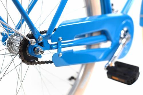 Bicicleta oras Dhs 2632 Citadinne M albastru 26 inch - Biciclete copii  -