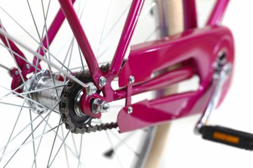 Bicicleta oras Dhs 2632 Citadinne M roz 26 inch - Biciclete copii  -