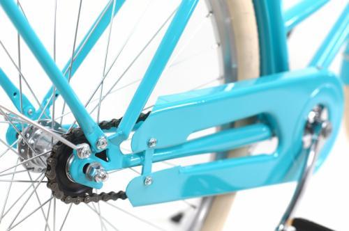Bicicleta oras Dhs 2632 Citadinne M verde deschis 26 inch - Biciclete copii  -