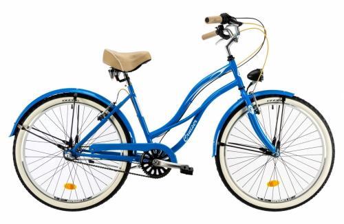 Bicicleta oras Dhs 2698 M albastru 26 inch - Biciclete copii  -