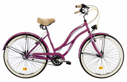 Bicicleta oras Dhs 2698 M violet 26 inch - Biciclete copii  -