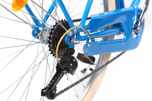 Bicicleta oras Dhs Citadinne 2634 M albastru 26 inch - Biciclete copii  -